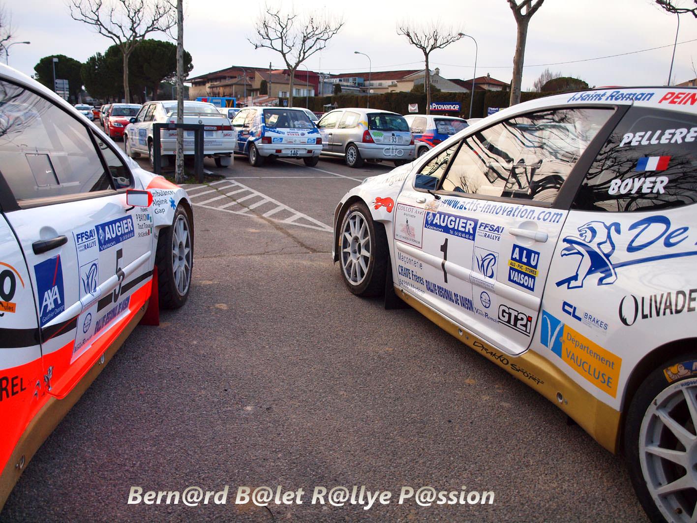Alu Design Vaison La Romaine rallye de vaison la romaine 2014 - team vasio romain