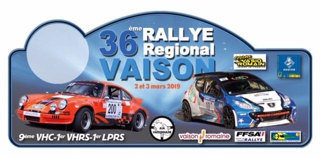 Rallye de vaison 2019