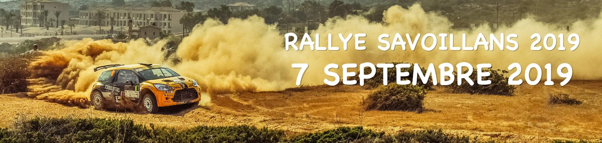 Rallye savoillans 2019